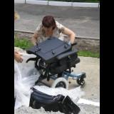 Помощь семьям, воспитывающим детей-инвалидов: приобретение инвалидных колясок