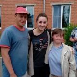 Воспоминания волонтёров о Червене