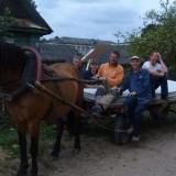 Сергей и ребята. Сентябрь 2012